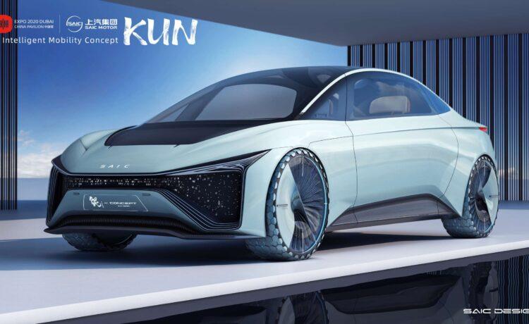KUN Chinese Concept Car at Expo 2020