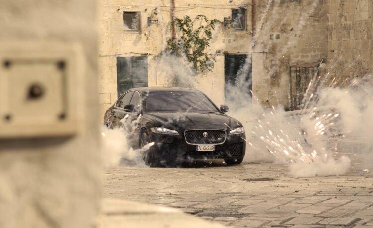 Jaguar XF Debuts in Bond Movie - No Time To Die