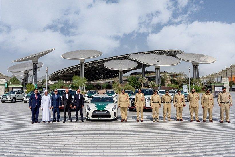 Arabian Automobiles deliver cars to Dubai Police for Expo 2020