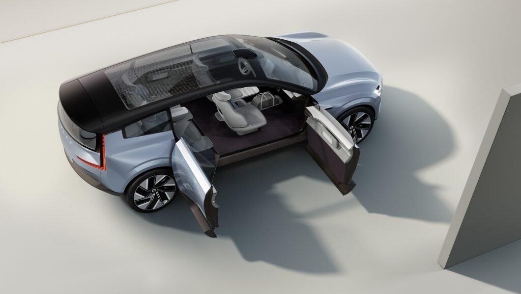 Volvo full electric car