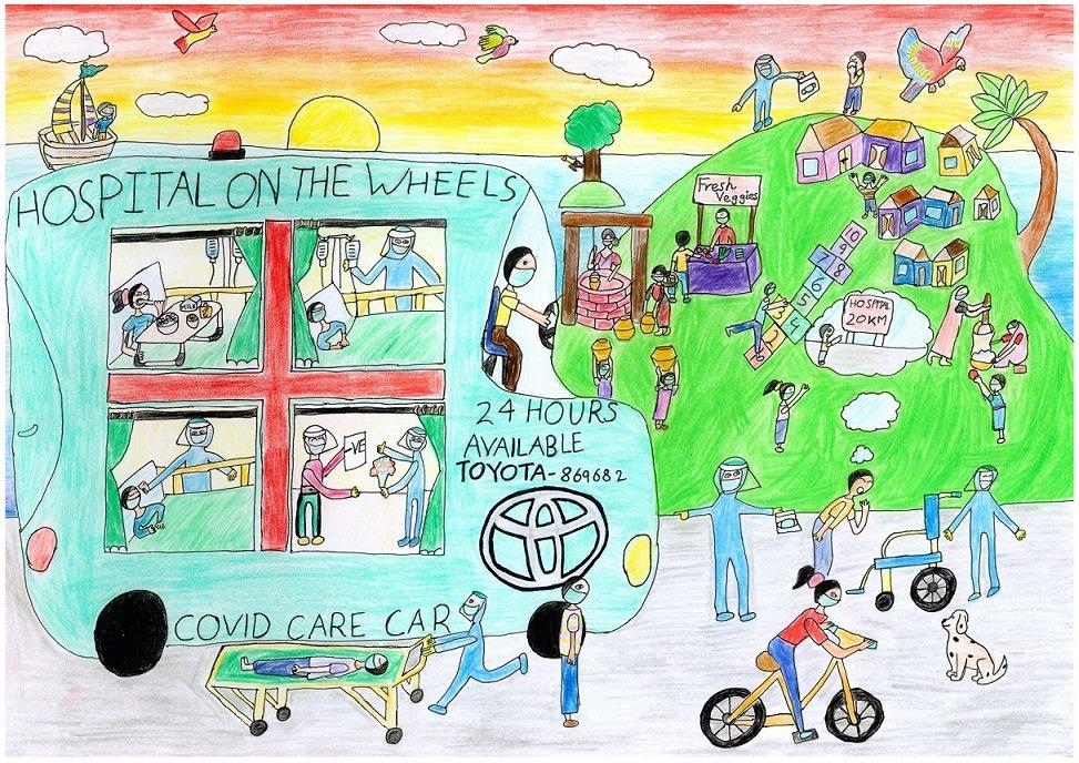 Toyota Dream Car Art Contest previous years winner